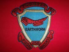 Vietnam War Patch Usmc 9th Engineer Battalion 1st Marine Division Earthworm