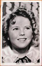 1930s Movie Star Postcard: Shirley Temple - Fox Film - S3