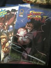 Street Fighter 2 Ii #0 And #1 Nm Minus( 2 Comics )