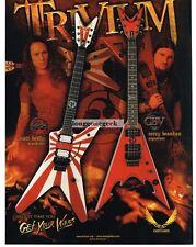 2008 DEAN ML, 1122  Electric Guitar MATT HEAFY, COREY BEAULIEU advertisement