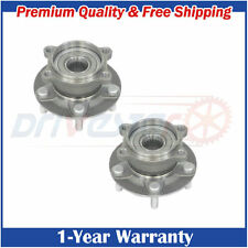 Pair:2 New Rear Left and Right Wheel hub & Bearings for  2013-2015 Mazda CX-5