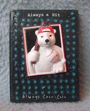 Coca Cola Baseball Polar Bear 3D Rubber Magnet Souvenir Travel Refrigerator