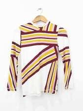 Designer BNWOT Karen Walker Size 4 Geometric Colourful Women's Top