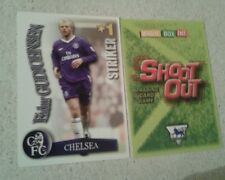 SHOOT OUT CARD 2003/04 (03/04) - Green Back -Chelsea - Eidur Gudjohnsen