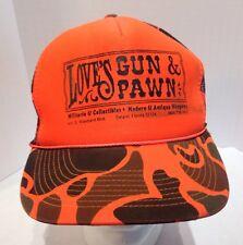 Love's Gun and Pawn Deland Florida Camouflage Fluorescent Orange Hunting Hat