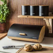 Brotkasten Brotkorb Brotbox Bambus Groß Neu + x3 Vorratsdose KÖNIGHOFFER COSMIC