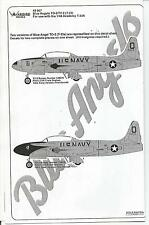 Warbird T-33A Shooting Star, Blue Angels TO-2 Decals 1/48 007, 2 Options