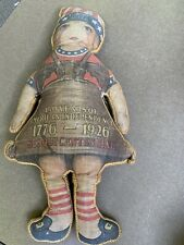 Vintage Sesquicentennial Liberty Bell Cloth Doll