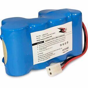 ZZcell Battery For Euro Pro Shark Vacuum Carpet XB1918, VX3, V1917 V1950