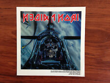 IRON MAIDEN - PILOT - STICKER/DECAL - BRAND NEW VINTAGE - MUSIC BAND 069