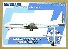 Anigrand Models 1/72 LOCKHEED XR60-1 R6V-1 CONSTITUTION U.S. Navy Transport