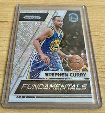 Stephen Curry 2017-18 Panini Prizm Fundamentals Shiny Disco Warriors card