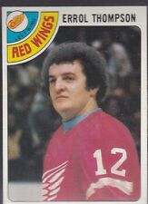 1978-79 TOPPS HOCKEY ERROL THOMPSON #57 RED WINGS NMMT *54768