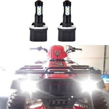 FOR ARCTIC CAT 250 300 400 500 650 HEADLIGHT LED LIGHT BULBS 100W 6000K 1200LM