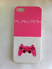 Pink Video Game Controller Art Printed iPhone 5 5s Case