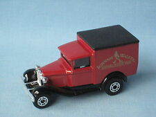 Matchbox MB-38 Ford Model A Van Johnnie Walker Whisky Delivery Toy Model Truck