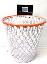 SPALDING WPBA BASKETBALL HOOP Goal Net Waste Paper Basket Trash Can