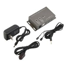 IR Infrared Remote Control Repeater Extender AV Kit 4 Emitters 1 Receiver IM