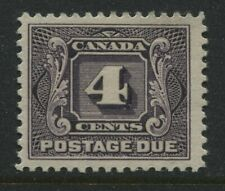 Canada 1906 4 cents Postage Due mint o.g.