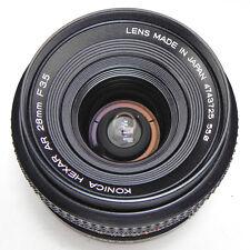 Konica 28mm f3.5 AR AE #4743725