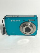 Polaroid a800 8MP Digital Camera Blue Tested Powers On No Men Card Sold As Is