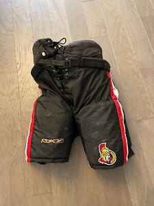 Ottawa Senators Pro Stock Hockey Pants Senior Large Black NHL