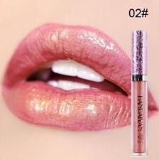 Sexy Women Glitter Matte Liquid Lipstick Waterproof Beauty Makeup Lipstick Gloss
