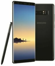 Samsung Galaxy Note8 SM-N950U - 64GB - Midnight Black (Unlocked)