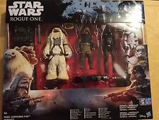 Disney Star Wars Rogue uno Rebel Commando Pao Moroff conjunto B9605 Stormtrooper Nuevo