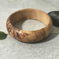 Armreif Olivenholz / Armband, Armreifen, Holzschmuck für Damen, Handarbeit