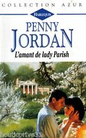 Livre de poche  - Roman sentimental -  l'amant De Lady Parish (Penny Jordan)