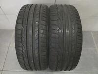 2x Sommerreifen Dunlop Sport Maxx RT 225/45 R17 91W MFS / 7,2 mm / DOT xx15
