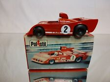 POLISTIL ART RJ34 ALFA ROMEO 33TT12 #2 CAMPARI - RED 1:60? - EXCELLENT IN BOX