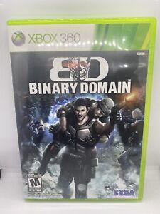 Binary Domain Xbox 360 Complete