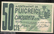 Ayuntamiento de PUIG - REIG 50 centimos @ Bergueda - Manresa @