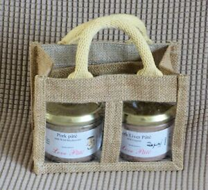 Lovely French Pate in Display Hessian Bag - Unusual Gift
