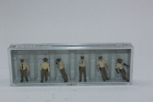 Preiser 10796 US Sheriff Deputies 6 Figurines H0 1:87 New Original Packaging