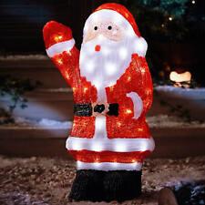 54 cm Acrylic LED Santa Figure
