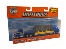 Matchbox Mbx Rig & Generator Trailer with Detachable Cab ~ 60th Anniversary ~New