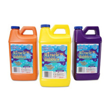 One 64 Oz Miracle Liquid Soap Bubble Solution Refill For Professional Machine