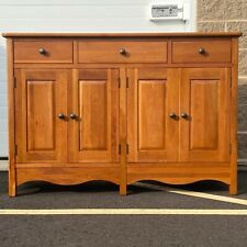Solid Cherry Country Sideboard by Richardson Brothers Furniture