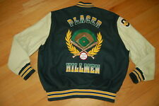 Vintage PLACER High School HILLMEN Varsity LETTERMAN Jacket Size L