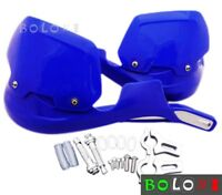 "7/8"" Motorcycle Hand Guard Blue 22mm Extension Handguards Dirt Bike Universal"