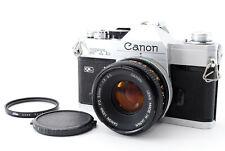 FedEX OK [Excellent Canon FTb QL Film Camera w/FD 50mm f/1.8 S.C From Japan