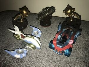 Activision Skylanders Giants Vehicles Cannon & Catapults Bundle VGC Gaming Fun