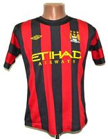 MANCHESTER CITY 2011/2012 AWAY FOOTBALL SHIRT JERSEY UMBRO SIZE S ADULT