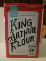 King Arthur Flour Celebrating 225 Years Commemorative Tin Canister.