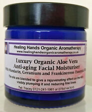 Natural Organic Luxury Anti-aging Face Cream with SPF15 - 60ml