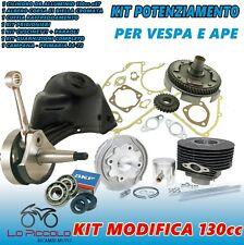 MODIFICA CILINDRO RACING ø57 POLINI ALBERO CONO 20 CAMPANA VESPA HP PK XL APE