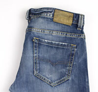 Diesel Herren Thavar Slim Skinny Gerade Jeans Größe W33 L32 AOZ170